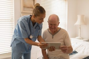 Digitalisierung Pflegeheim